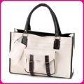 Biała torebka damska, mieście A4 Japan Style TO3361