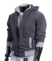 Hot Mens Fashion Slim Fit Sexy Top Designed Hoodies Jackets Coats