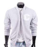 Original gray men's jacket sweatshirt Carlo Lamon