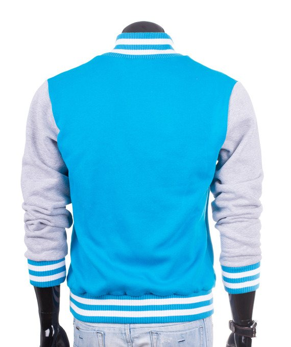 Original blue men's jacket sweatshirt Carlo Lamon