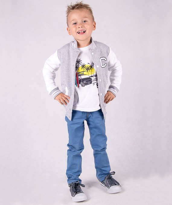 Original grey kids jacket Carlo Lamon
