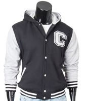 Original black men's hoodie jacket Carlo Lamon