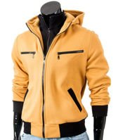 Yellow men's hoodie Carlo Lamon