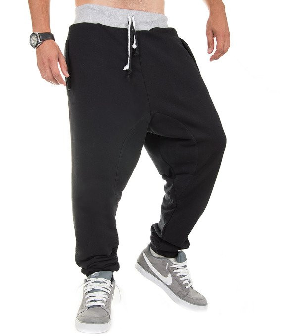 Black men's sweatpants trousers Carlo Lamon