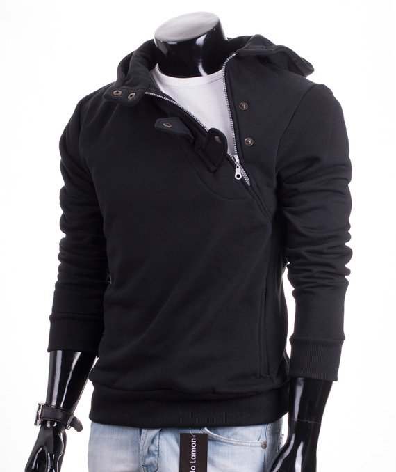 Original black men's hoodie Carlo Lamon