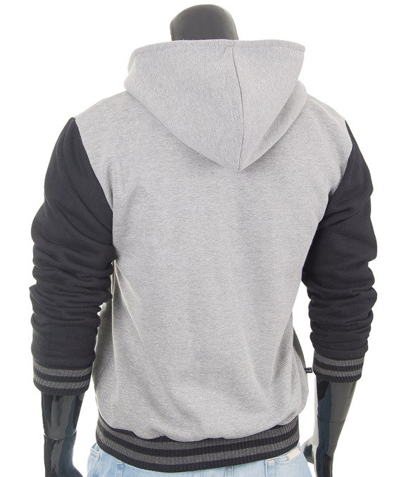 Original melange  men's hoodie jacket Carlo Lamon